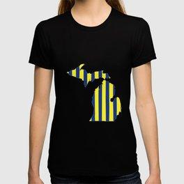 Maize and Blue Michigan T-shirt