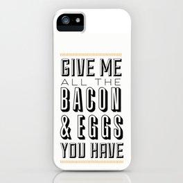 Bacon & Eggs iPhone Case