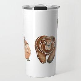 Canadian Crew | Woodland Animals Nursery Art Travel Mug