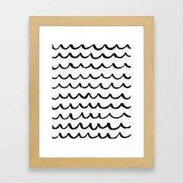 On the Same Wavelength Framed Art Print