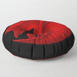 fierce dragon Floor Pillow