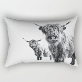 HIGHLAND COW - LULU & SARA Rectangular Pillow