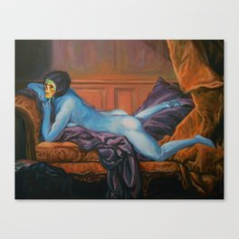 Waiting To Surprise Bae Canvas Print