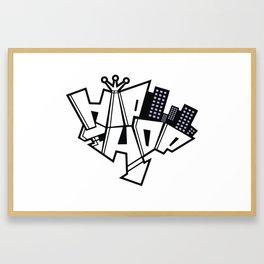 graffe Framed Art Print