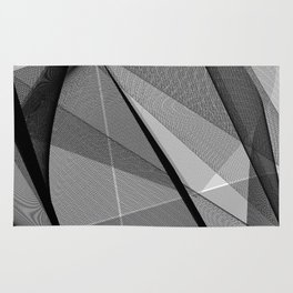 My Strong Gentle Heart. Abstract Art Rug