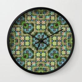 """""""Needlepoint Sampler"""" (3D Fractal) Wall Clock"""