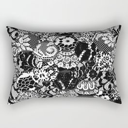 gothic lace Rectangular Pillow
