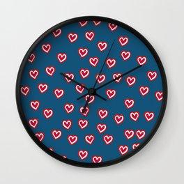 Mwah! Wall Clock