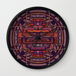 Collider mask Wall Clock