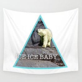 Ice cold bear Wall Tapestry