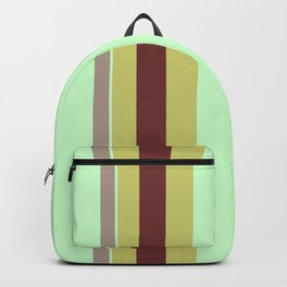 Vintage 70's Curtains Backpack