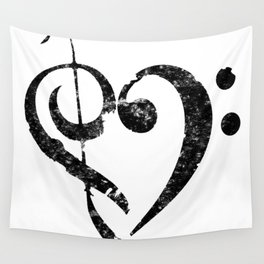 I Heart Music Wall Tapestry