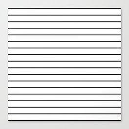 Minimal Stripes Canvas Print