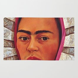 Frida Kahlo Bride Rug
