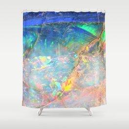 Ocean Opal Shower Curtain