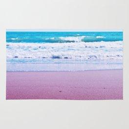 Pastel ocean dreams Rug