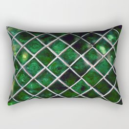 Emerald Pattern Rectangular Pillow