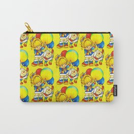 Vintage Ephemera Inspired Carry-All Pouch