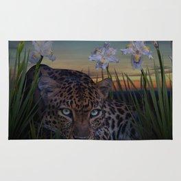 Leopard Stalking Rug