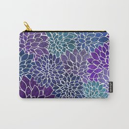 Floral Abstract 22 Carry-All Pouch