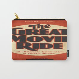 Great Movie Ride TCM Poster Carry-All Pouch