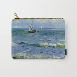 "Vincent Van Gogh ""The Sea at Les Saintes-Maries-de-la-Mer"" Carry-All Pouch"