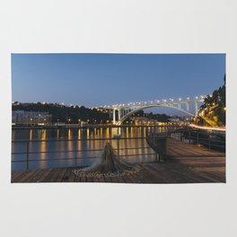 Arrabida bridge (IV) Rug