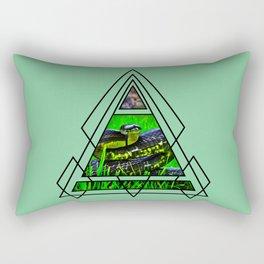 Snake Design Rectangular Pillow