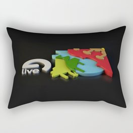 Live 8 Rectangular Pillow