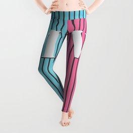 Man and Woman Creative Artwork Leggings