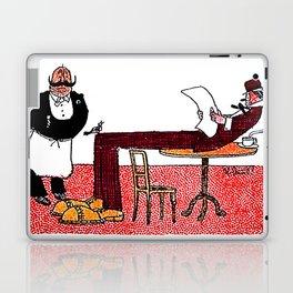 Cartoon comics 1 Laptop & iPad Skin