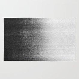 BLUR / abyss / black Rug