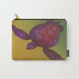 Sea Turtle (warm) Carry-All Pouch