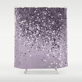 Sparkling Lavender Lady Glitter #2 #shiny #decor #art #society6 Shower Curtain