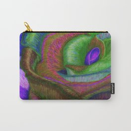 NERPLE Wild Rose (Rainbow Rose) Carry-All Pouch