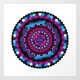 Sleep Sphere Art Print