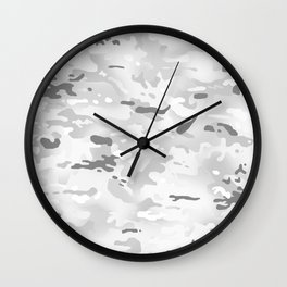 Camouflage: Alpine Wall Clock