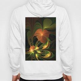 Fantasy Plant, Abstract Fractal Art Hoody