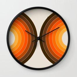Golden Sonar Wall Clock