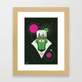 "The Earth Mover ""B"" Framed Art Print"