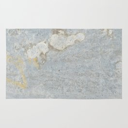 Blueish, rusty and old steel texture Rug