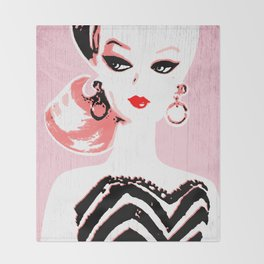 Classic Barbie Throw Blanket