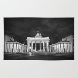BERLIN Brandenburg Gate | Monochrome Rug