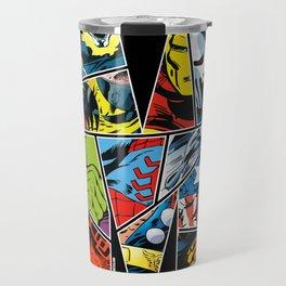 Classic comic heroes Travel Mug