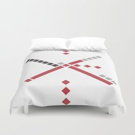 Rip City Carpet Duvet Cover