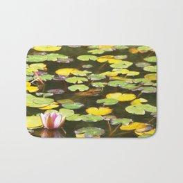 Pond flower Bath Mat