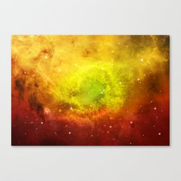 Watercolor Universe 6 Canvas Print