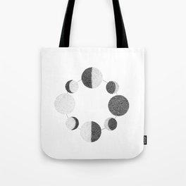 Luna Phases Tote Bag