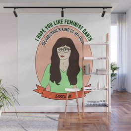 Jessica Day / New Girl Print Wall Mural