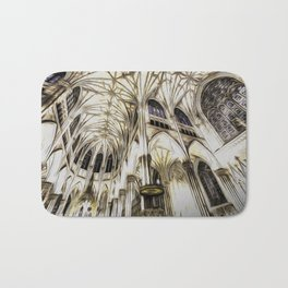 Cathedral Architecture Art Bath Mat
